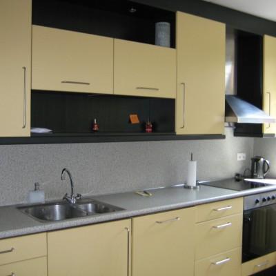 keuken 2 voor het spuiten