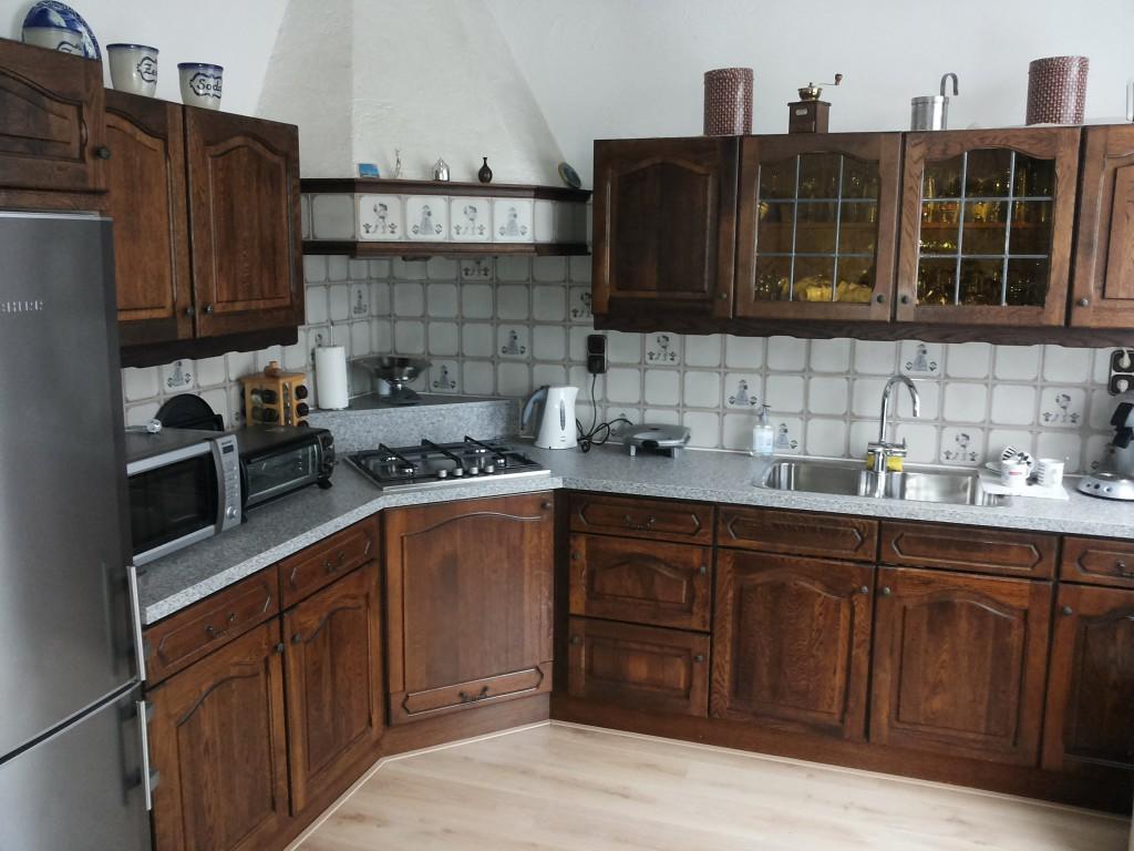 Eiken Keukenkast Verven : Keuken verven kosten