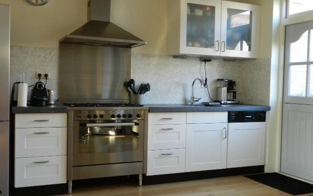 keuken 4 na het spuiten