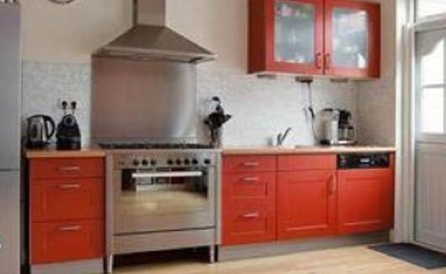 keuken 4 voor het spuiten