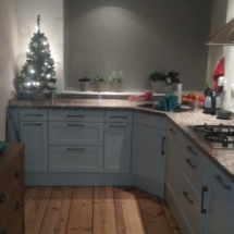 keuken 5 na het spuiten
