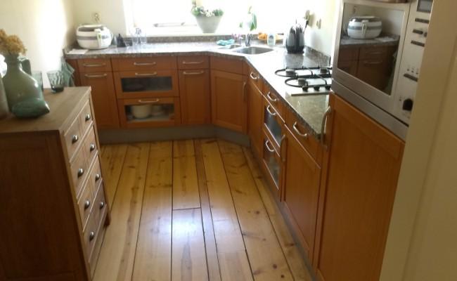 keuken 5 voor het spuiten