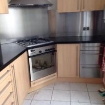 keuken 6 voor het spuiten